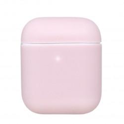 Чехол силиконовый для беспроводных наушников Apple AirPods Пудровый