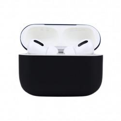 Чехол силиконовый для Apple Airpods Pro Чёрный