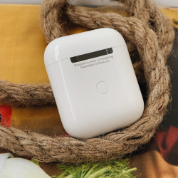 Беспроводные Bluetooth Наушники HOCO ORIGINAL ES20 Plus Wireless Charging Version Bluetooth Headset White